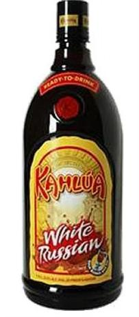 Kahlua Liqueur White Russian Drink To Go